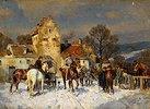 Pferdemarkt in Franken