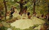 Ein Picknick im Walde