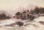 Dorfschmiede im Gebirge