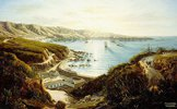 Blick auf Valparaiso