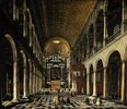 Innenansicht der Jesuitenkirche in Antwerpen