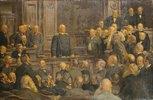 Bismarcks letzte Reichstagsrede am 6.Februar 1888. (Entstanden 1901)