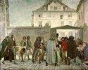 Friedrich Schiller auf dem Wege zu seiner Antrittsvorlesung, Jena
