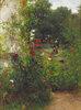 Leibls Garten in Aibling. Mitte 1880er Jahre