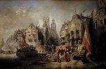 Die Ankunft des Herzogs von Alba in Rotterdam