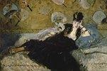 Die Dame mit den Fächern (Nina de Callias)