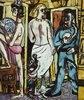 Triptychon Die Akrobaten, 1939. Mitteltafel