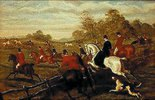 Jagd zu Pferde