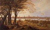 Lübeck von Osten, von Marli aus