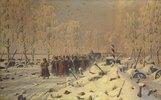 Rückzug der napoleonischen Truppen aus Russland