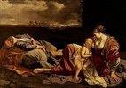 Die Ruhe der hl.Familie auf der Flucht nach Ägypten
