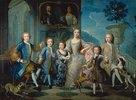 Die Familie des Herzogs von Valentinois