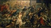 Medici-Zyklus: Apotheose Heinrichs IV. und Proklamation der Regentschaft von Maria de Medici