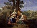 Die hl.Familie mit dem Johannesknaben und der hl.Elisabeth