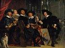 Die Vorsteher der Amsterdamer Gilde der St.Sebastians-Armbrustschützen