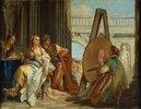 Alexander der Grosse und Campaspe im Atelier von Apelles I