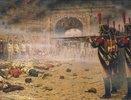 Nach der Eroberung Moskaus durch Napoleon: Erschiessung Aufständischer
