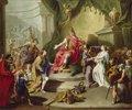 Die Großmut des Scipio (Rückgabe der Jungfrau an den Bräutigam)