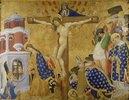 Das Martyrium des heiligen Dionysius (Tafel von der Retabel des Dionysius-Altars für die Kartause von Champmol). 1416 vollendet