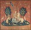 Die Dame mit dem Einhorn. Zwischen 1484 und