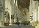 Inneres der St.Bavo-Kirche in Haarlem