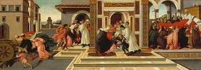 Vier Szenen aus d.Leben des Hl. Zenobius