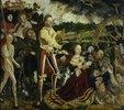 Katharinen-Altar. Mitteltafel: Die Enthauptung der hl. Katharina