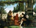 Gruppe von florentinischen Dichtern