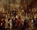 Die Versöhnung Ludwigs des Bayern mit Friedrich dem Schönen
