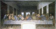 Das letzte Abendmahl. 1495-1497. Aufnahme nach der Restaurierung