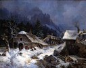 Schmiede im Winter