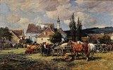 Viehmarkt im Dachauer Land