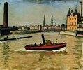 Im Hafen von Hamburg