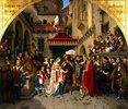 Die Hochzeit des Käthchen von Heilbronn mit dem Grafen Wetter