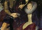 Detail aus 'Rubens und Isabella in der Geissblattlaube': Hände des Paares und