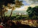 Die Ankunft Ludwigs XIV. in Vincennes