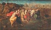 Die Flucht der römischen Jungfrauen
