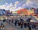 Die Seine mit Pont Saint-Michel im Herbst