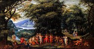 Musikalischer Wettstreit zw. Apollo u. Pan (Midas-Urteil). 1615 mit H. de Clerck
