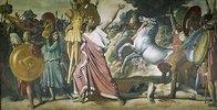 Romulus als Bezwinger König Acros