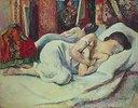 Schlafende Frau (Femme dormante, Jeanne)