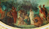 Elysium oder Dante und die Geister der großen Männer, Detail