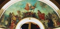 Alexander läßt die Werke Homers in der goldenen Truhe des Darus einschließen