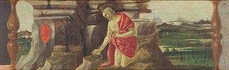 Altar von San Marco: der büßende Hl. Hieronymus