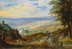 Landschaft mit Fernsicht