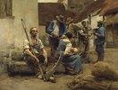 Die Entlohnung der Erntearbeiter
