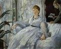 Die Lektüre. Mme. Manet und ihr Sohn Léon Koella-Leenhoff