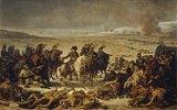 Napoleon Bonaparte auf dem Schlachtfeld von Eylau