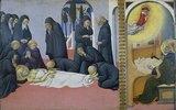 Tod des hl. Hieronymus und Erscheinung vor Cyrillus, Bischof von Jerusalem