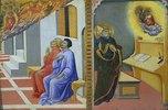 Erscheinung des hl. Hieronymus vor Sulpicius Severus und dem hl. Augustinus